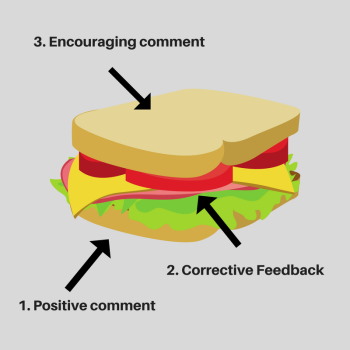 Feedback Sandwich - Blog