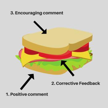 Feedback Sandwich - Blog