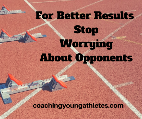 For Better Results, Stop Worrying About Opponents