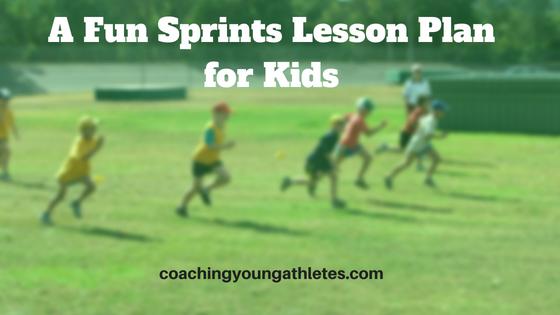 A Fun Sprints Lesson Plan for Kids Blog