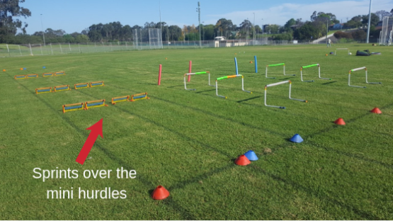 Hurdles Session 1 Blog