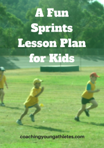 A Fun Sprints Lesson Plan for Kids A4