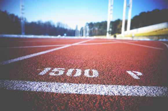 asphalt athletics blur close up