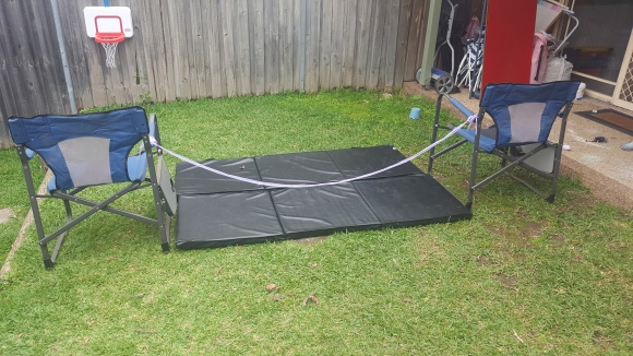 Backyard High Jump Set-Up