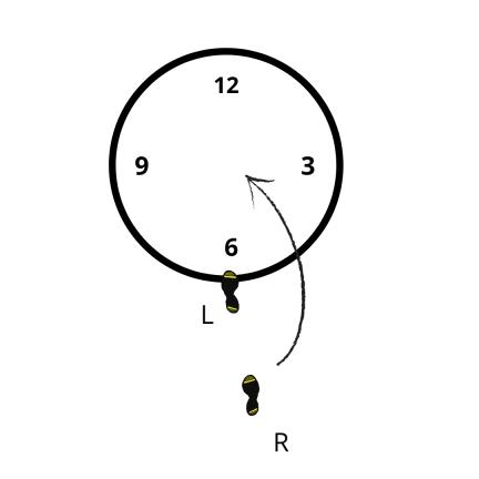 Discus Pivot Progression 1
